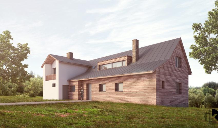 Rekonstrukce Rodinný dům Halenkov